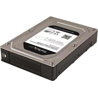 "Startech Dual, Bay 2.5""- 3.5"" Sata Hard Drive Adapter Enclosure With Raid, Jbod Aluminum (35Sat225s3r)"