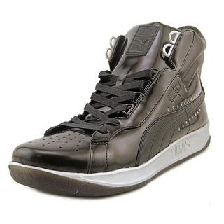 Puma PumaxMeeksxSilver Challenge Men Patent Leather Black Basketball Shoe