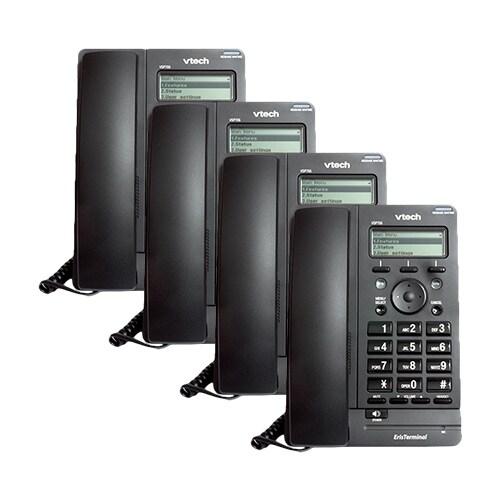 VTech VSP705 (4-Pack) Deskset