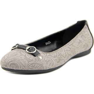 Patrizia By Spring Step Onel Women Pointed Toe Synthetic Gray Flats
