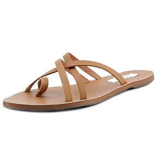 Steve Madden Anabelll Open Toe Leather Slides Sandal