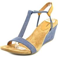 Style & Co Mulan Women Indigo Sandals