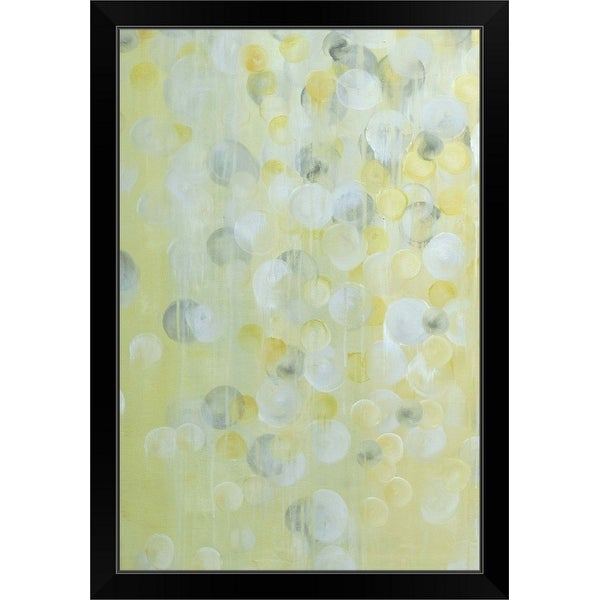 """Wishing Bubbles"" Black Framed Print"