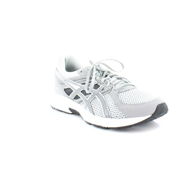 4d91d2454f6b Shop Asics GEL-Contend 3 Men s Athletic Light Grey Titanium  Black ...