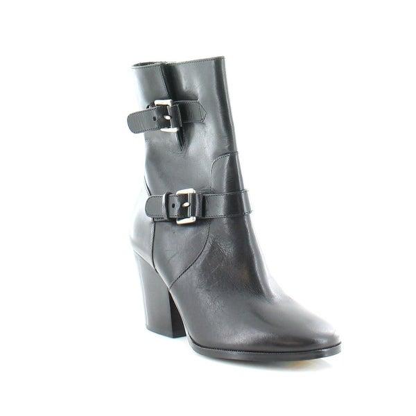 MICHAEL Michael Kors Ashton Mid Bootie Women's Boots Black