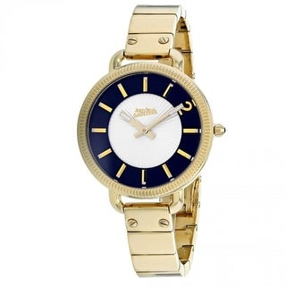 Link to Jean Paul Gaultier Women's 8504303 'Index' Gold-Tone Stainless Steel Watch - Silver Similar Items in Women's Watches