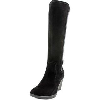 Blondo Lauren   Round Toe Suede  Knee High Boot