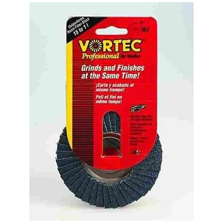 """Weiler 30824 Abrasive Nutted Flap Disc 4"""""""
