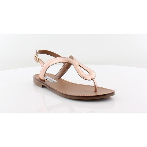 Steve Madden Takeaway Women's Sandals & Flip Flops Rose Gold