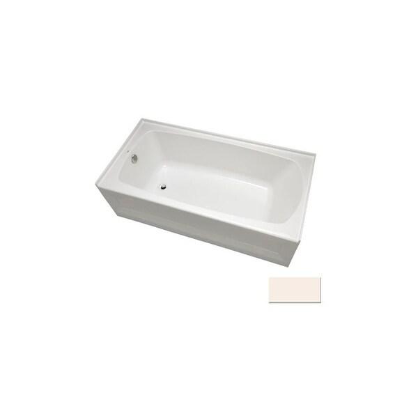 "Mirabelle MIRBDS6030L Bradenton 60"" x 30"" Three-Wall Alcove Soaking Tub with Left Hand Drain - White"