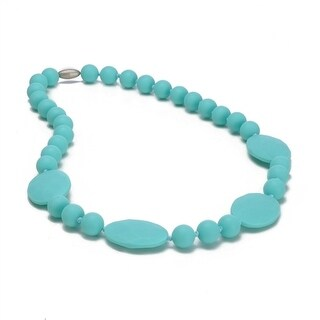 Chewbeads Perry Teething Necklace - Turquoise Perry Teething Necklace