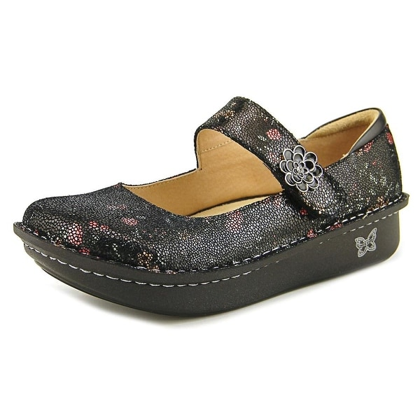 Alegria Paloma Women W Round Toe Leather Black Mary Janes