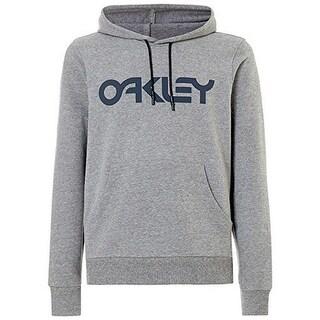 Oakley Mens B1b Po Hoodie, Athletic Heather Grey, L