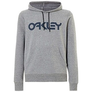 Oakley Mens B1b Po Hoodie, Athletic Heather Grey, Xxl