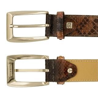 Renato Balestra Antaresia Python Leather Womens Belt