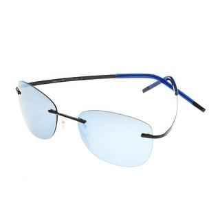Simplify Matthias Unisex Titanium Sunglasses - 100% UVA/UVB Prorection - Polarized/Mirrored Lens - Multi