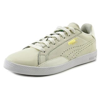 Puma Match Low BW Women Round Toe Leather Ivory Sneakers
