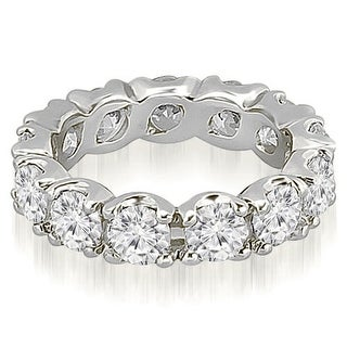 2.70 cttw. 14K White Gold Round Diamond Eternity Ring