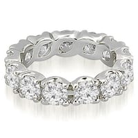 14K White Gold 2.70 cttw. Round Diamond Eternity Ring HI,SI1-2