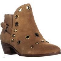 Sam Edelman Pedra Ankle Boots, Saddle Suede - 8 US / 38 EU