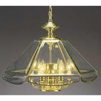 Volume Lighting V5026 7 Light 1 Tier Chandelier