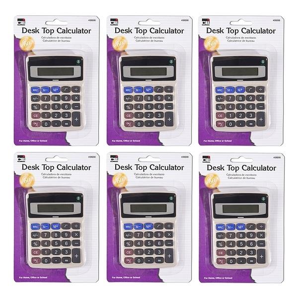 (6 Ea) Desktop Calculator. Opens flyout.
