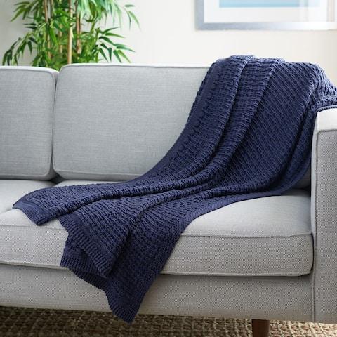 SAFAVIEH Larza 50 x 60-inch Throw Blanket