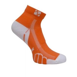 Vitalsox VT 0210 Ped Light Weight Running Socks, Orange - Small