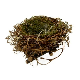 Link to Handmade Accent Decor with Bird Nest Design, Small, Brown Similar Items in Accent Pieces
