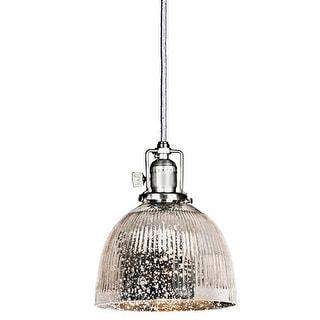JVI Designs 1200-S5-SR Union Square One Light Pendant - Grey