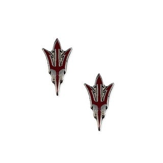 Arizona State Sun Devils Post Stud Logo Earring Set NCAA Charm