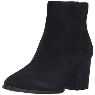 French Connection Womens Ankle Boots Suede Side Zip - 9 medium (b,m)