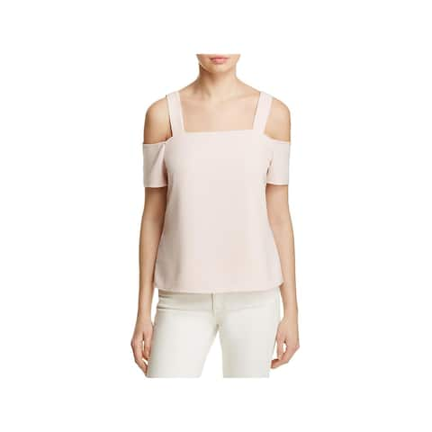 Cooper & Ella Womens Blouse Cold Shoulder Cut Out