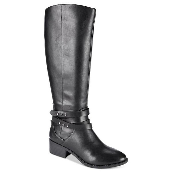 Material Girl Womens Damien Closed Toe Knee High Fashion Boots. Opens flyout.