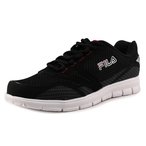 Fila Direction Men Blk/Csrk/FRed Running Shoes