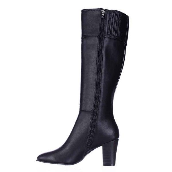 Alfani Womens Courtnee Pointed Toe Knee High Fashion Boots