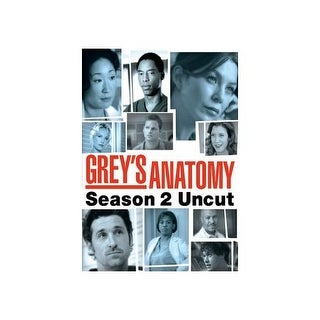 GREYS ANATOMY-2ND SEASON (UNCUT) (DVD/6 DISC)