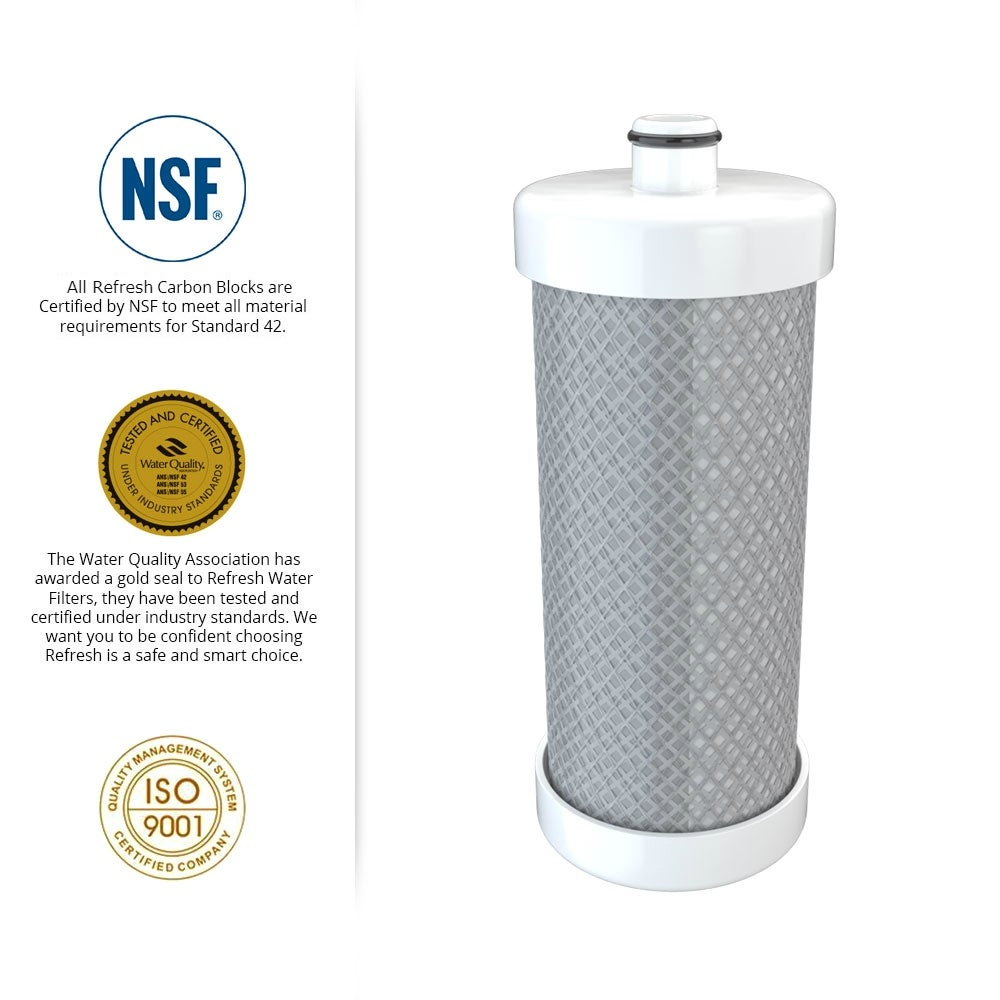 Replacement Water Filter for Frigidaire FRS26RC3JS3 Refrigerators 3 Pack