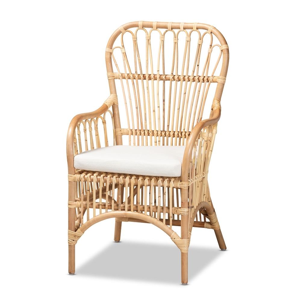 Rattan armchair - Overstock
