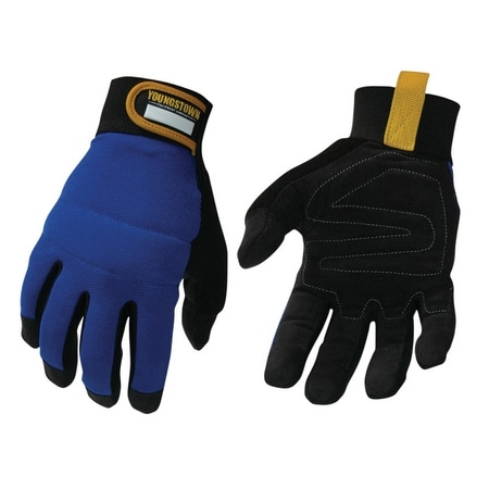 Youngstown06-3020-60-L Water/Oil Resistant Mechanics Glove, Large