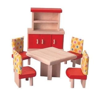 Plantoys Colorful Furniture Dining Room Set