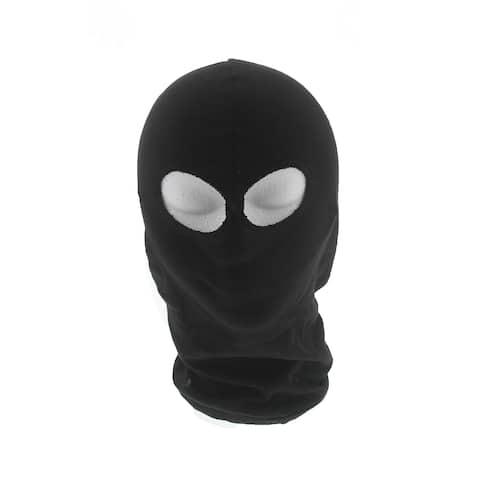 Arctic Shield Cotton Balaclava Black Full Face Mask by Back 40 Apparel Company