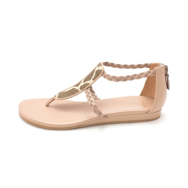 Cole Haan Womens Paulasam Open Toe Casual T-Strap Sandals - 6