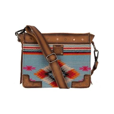 StS Ranchwear Western Handbag Saltillo Crossbody Serape - 8 x 10.5 x .5