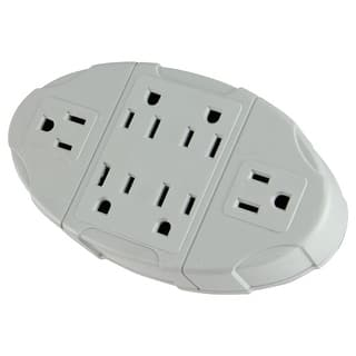 Westinghouse 6-Outlet Electric Transformer Tap Grounded Wall Adapter - White https://ak1.ostkcdn.com/images/products/is/images/direct/d09329b32ec3ed4f4e1af10f613b42dec820ad01/Westinghouse-6-Outlet-Electric-Transformer-Tap-Grounded-Wall-Adapter.jpg?impolicy=medium