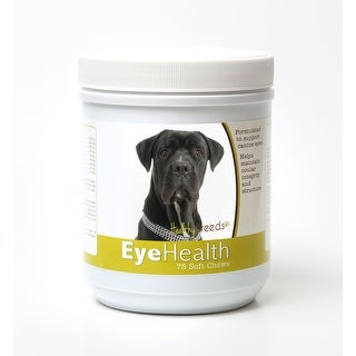 Healthy Breeds Cane Corso Dog Eye Care Support Soft Chews 75 Count