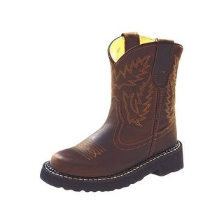 Old West Cowboy Boots Boys Girls Kids Tubbies Round Apache