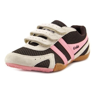 Gola Conflict Women Round Toe Synthetic Brown Sneakers