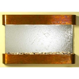 Adagio Sunrise Springs With Silver Mirror in Rustic Copper Finish and Rounded Ed