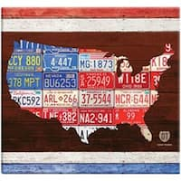 "American License Plate Post Bound Scrapbook 12""X12""-"